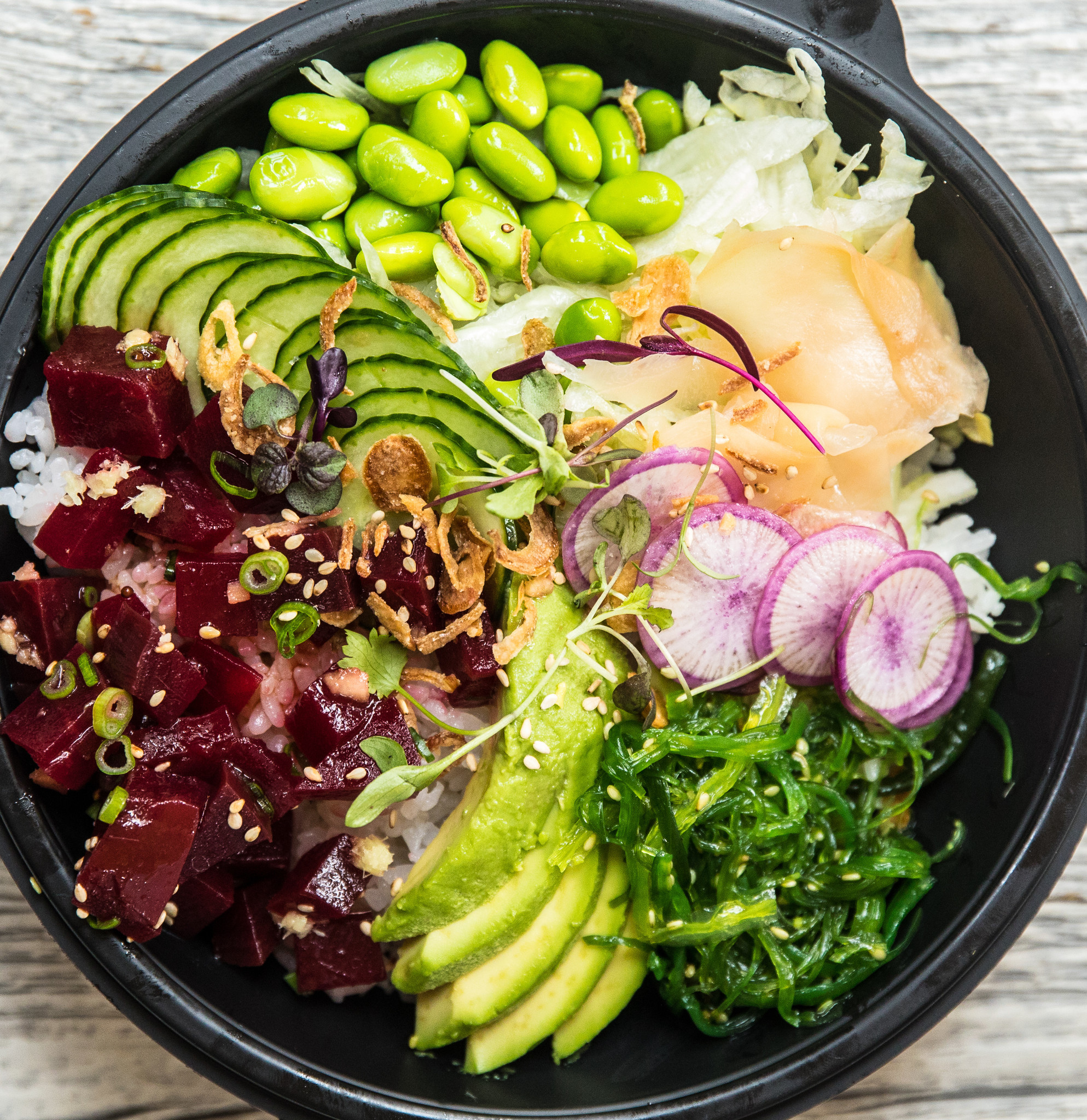 Get poke on demand from new lettuce entertain you project for Lettuce entertain you restaurants