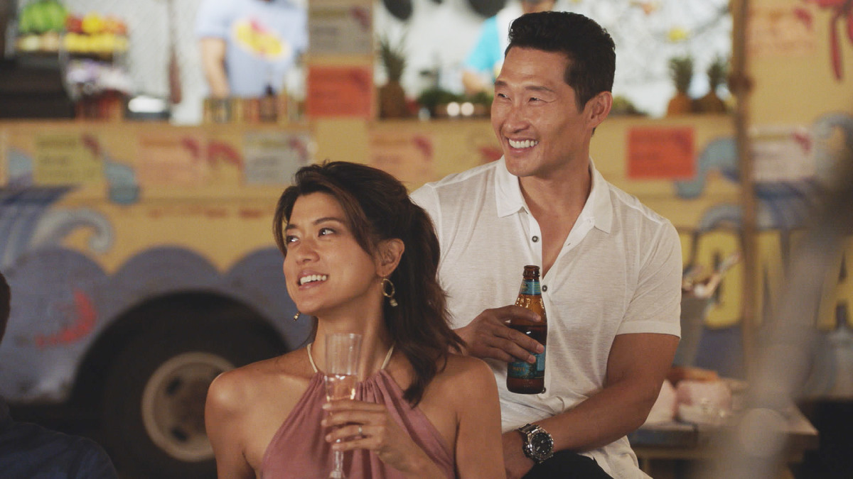 "Grace Park is  Kono Kalakaua and Daniel Dae Kim is Chin Ho Kelly in ""Hawaii Five-O."" (CBS)"