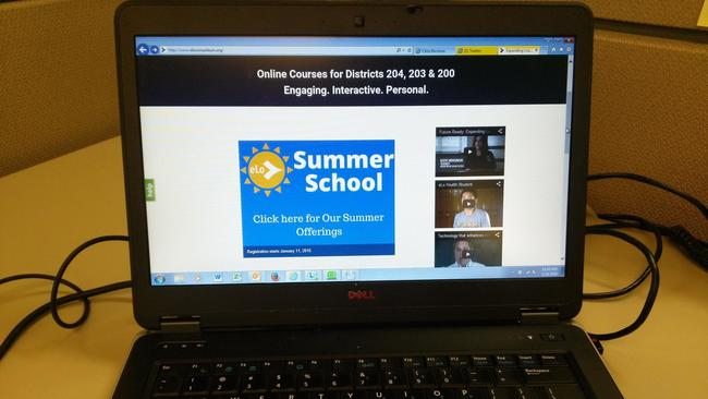 Image result for Naperville high schools providing online summer classes to 2,000 students