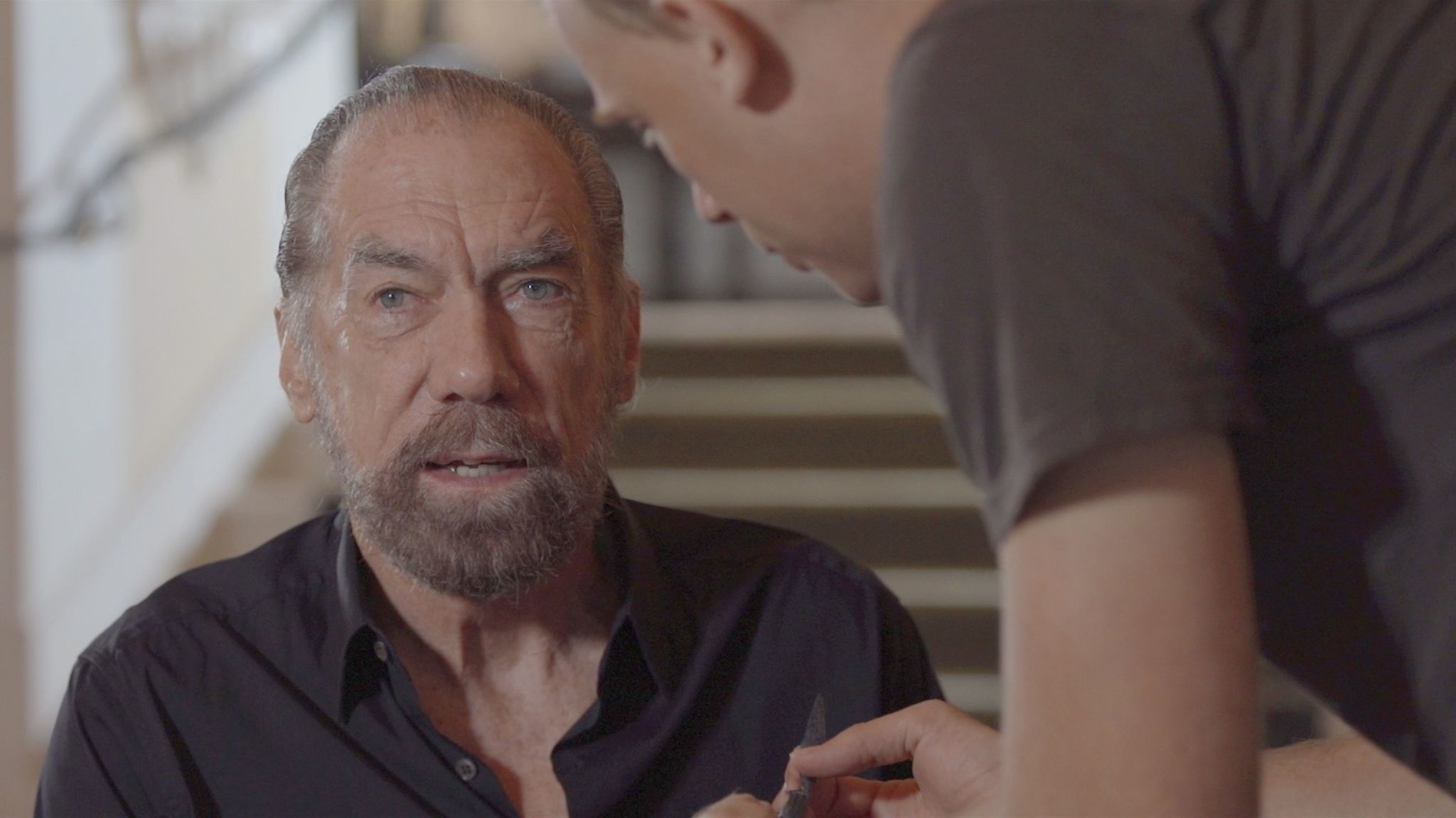 "John Paul DeJoria in a scene from the documentary ""Good Fortune."""