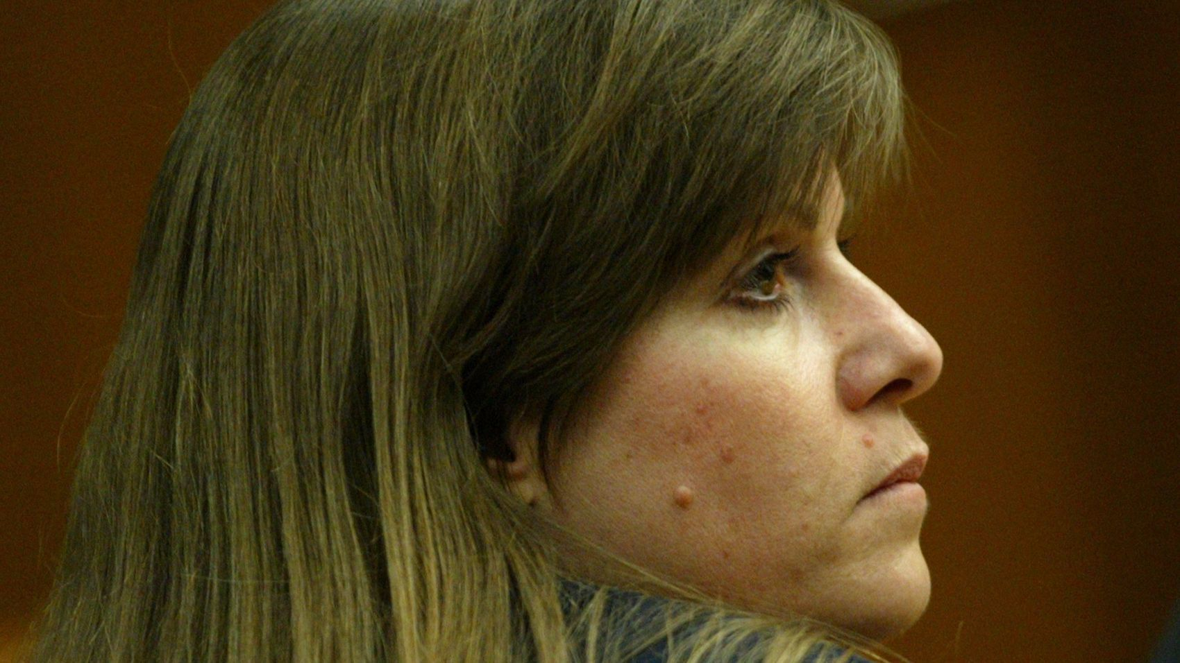 Marcia Ann Johnson in court as she was convicted of murder in the 1999 killing of Jack Irwin.