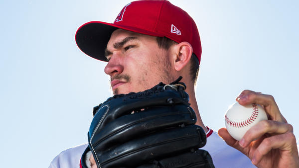 Angels pitcher Andrew Heaney determined to return this season