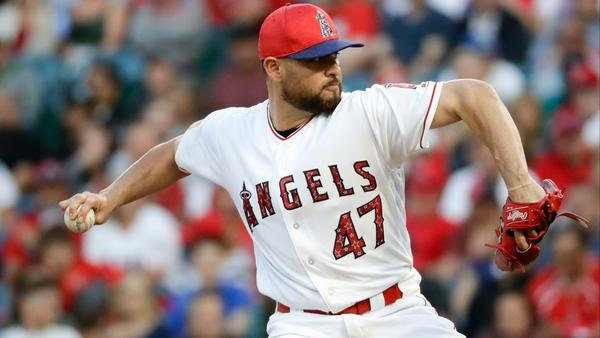Ricky Nolasco pitches three-hitter in Angels