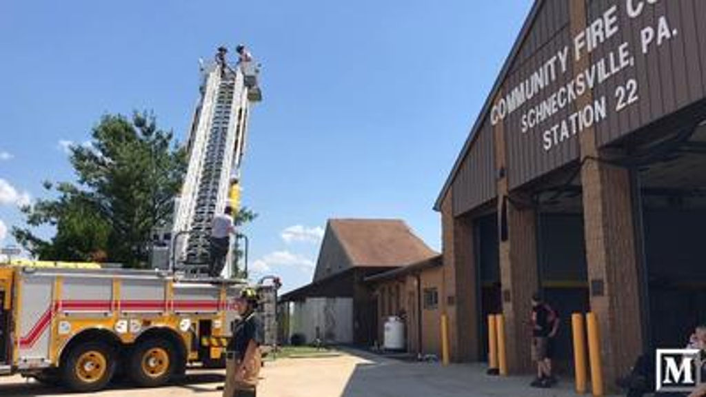 Schnecksville Fire Company Building Collapse