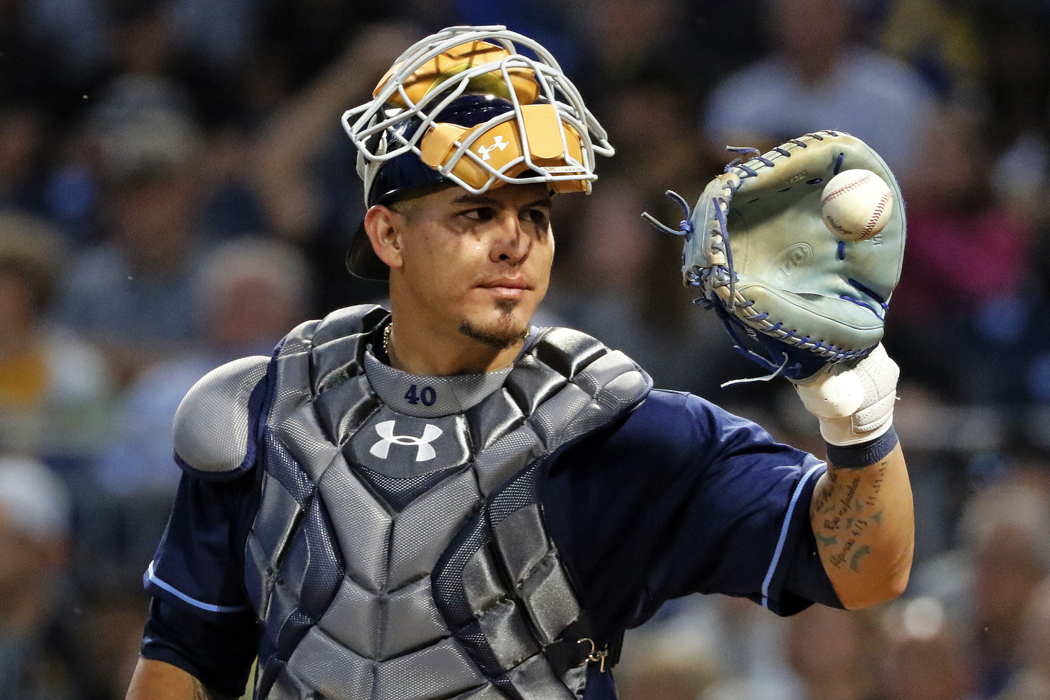 Image result for wilson ramos catcher