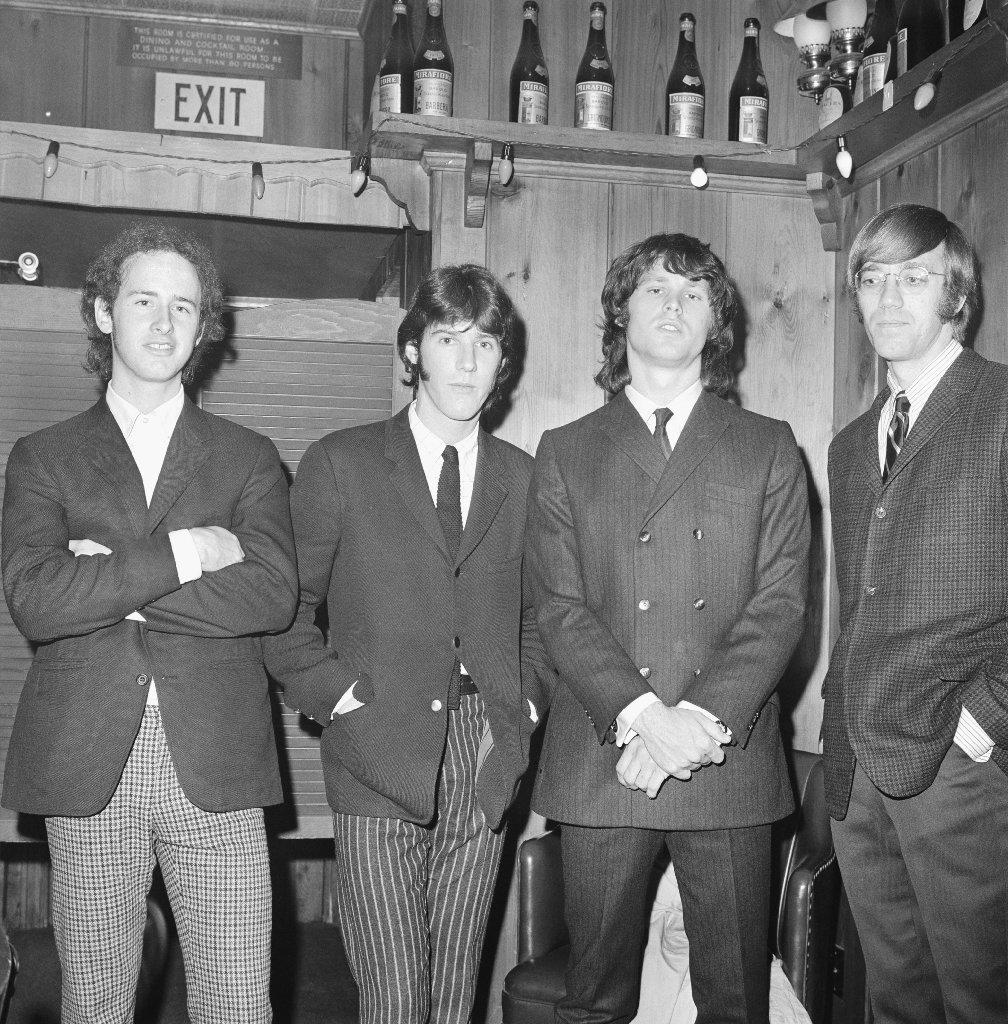 The Doors appear at Whisky a Go Go in 1966. (Michael Ochs Archives / Getty Images)