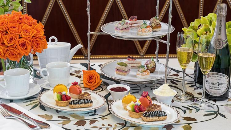 You can get a hot cup of tea served with an array of pastries and finger sandwiches at Wynn Las Vega