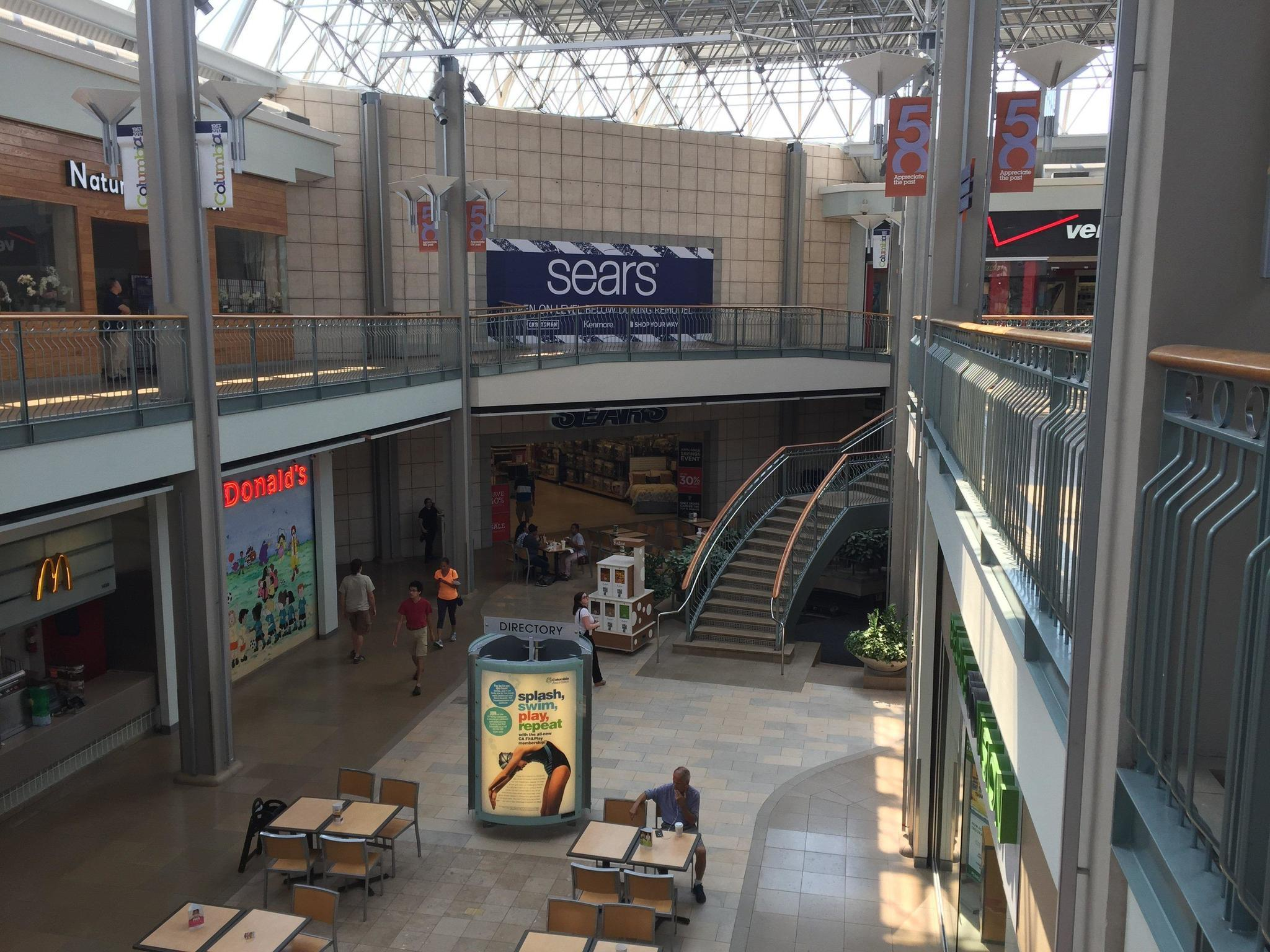 Mall in columbia clears space for incoming tenants for Flooring contractor columbia md