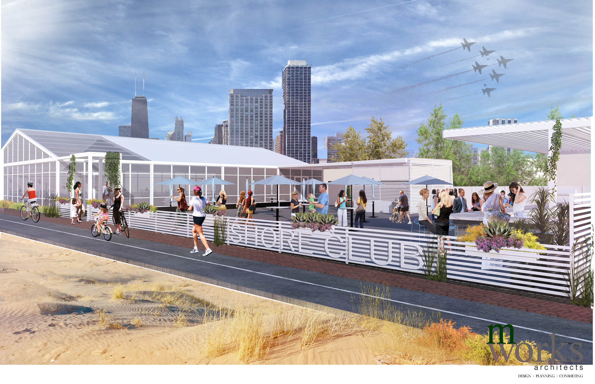 North Avenue Beach House Part - 20: Chicago Lakefront Adding 3 Restaurants In 1 Space At Shore Club Near North  Avenue Beach - Chicago Tribune