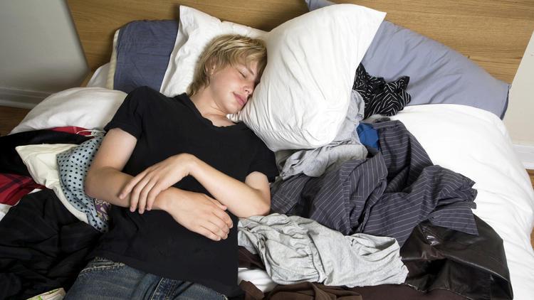 teen sleep