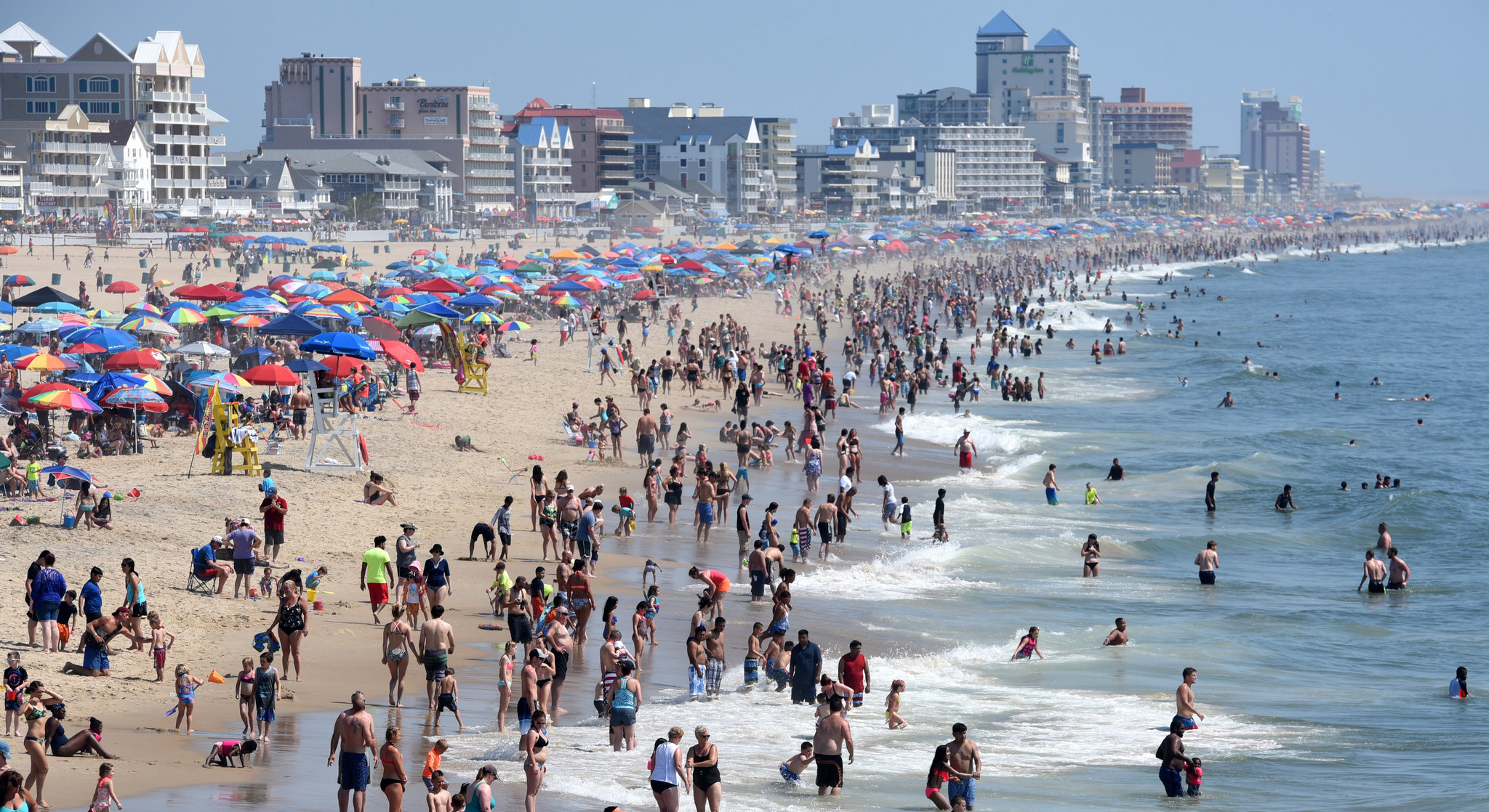 Death of woman found buried in sand on Ocean City beach