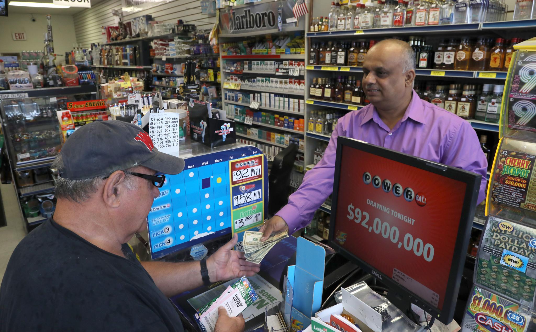 illinois lottery resumes selling mega millions  powerball