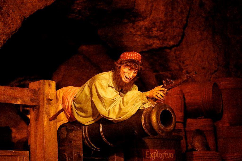 Pirates of the Caribbean at Disneyland.