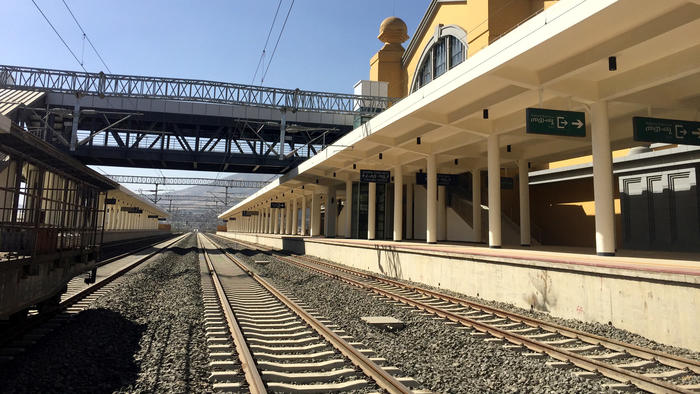 The new Addis Ababa train station is the final destination for the Chinese-built Ethiopia-Djibouti R