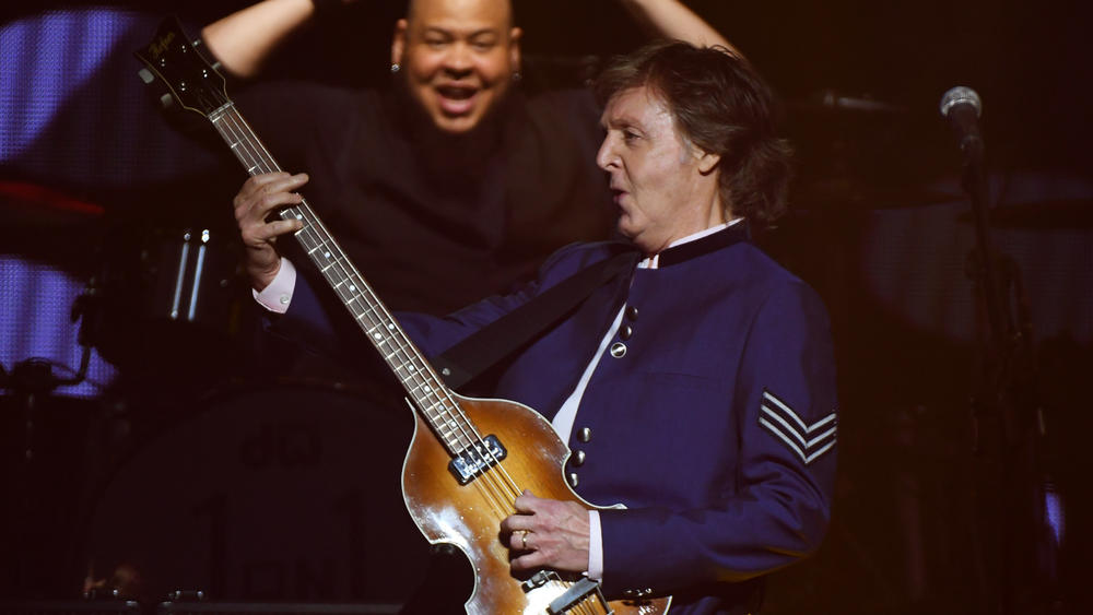 Paul McCartney at the AmericanAirlines Arena