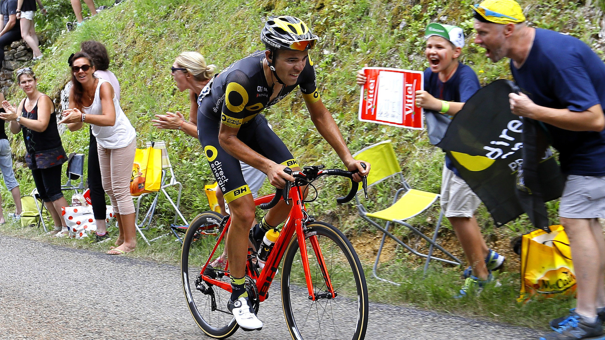 Lilian Calmejane Gets His First Tour De France Stage Win