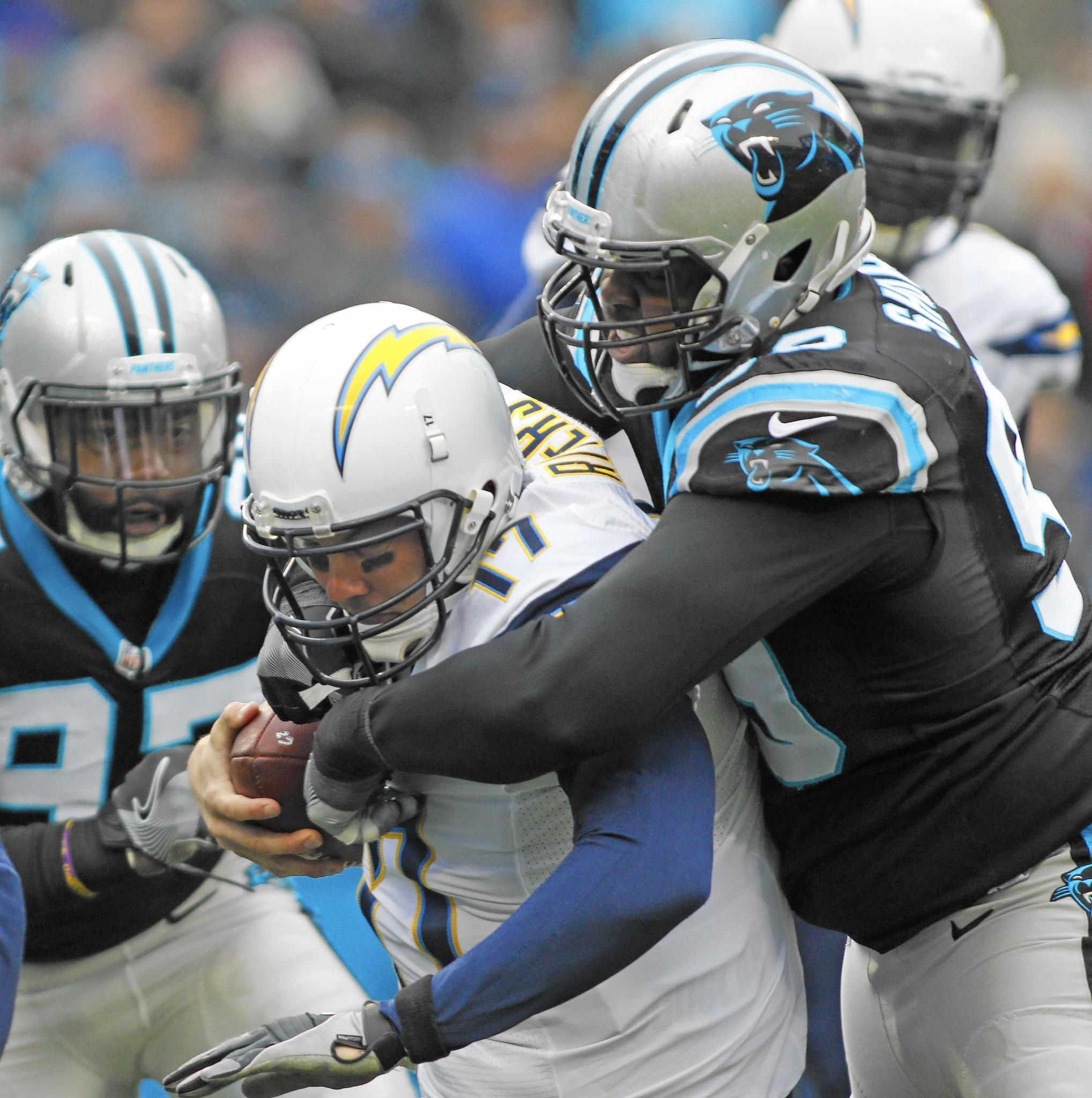 Hutton Carolina Panthers Kawann Short right at home in East