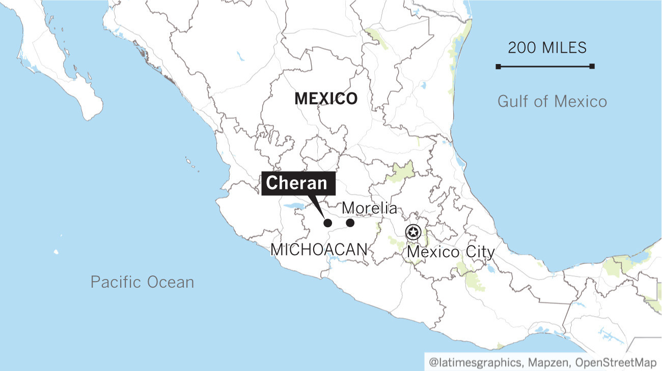 Where is michoacan in mexico