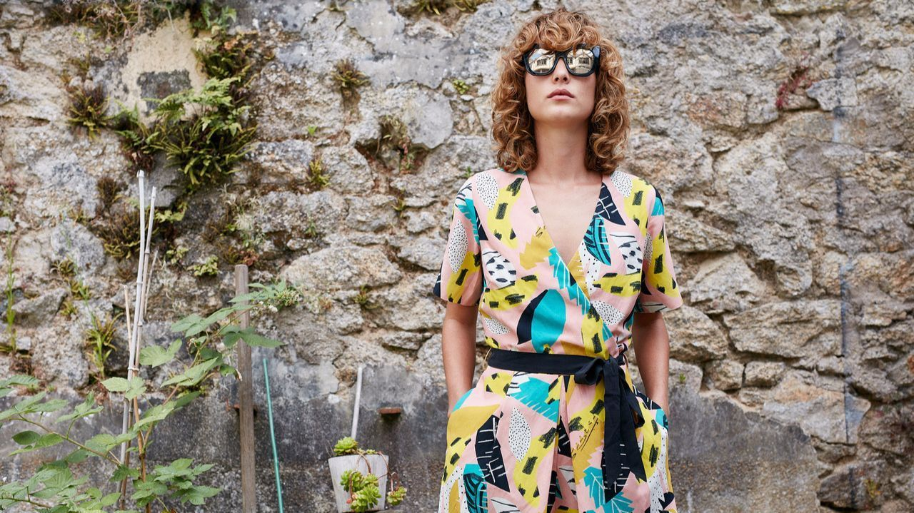 "Gorman features a playsuit called ""gone bananas"" done in collaboration with French graphic design company Atelier Bingo. Gorman recently opened a West Hollywood boutique, its first U.S. outpost. The patterned silk linen playsuit is $222.08 and available at gorman.com.au."