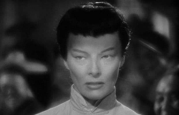 "Katharine Hepburn played a Chinese woman in ""Dragon Seed."""