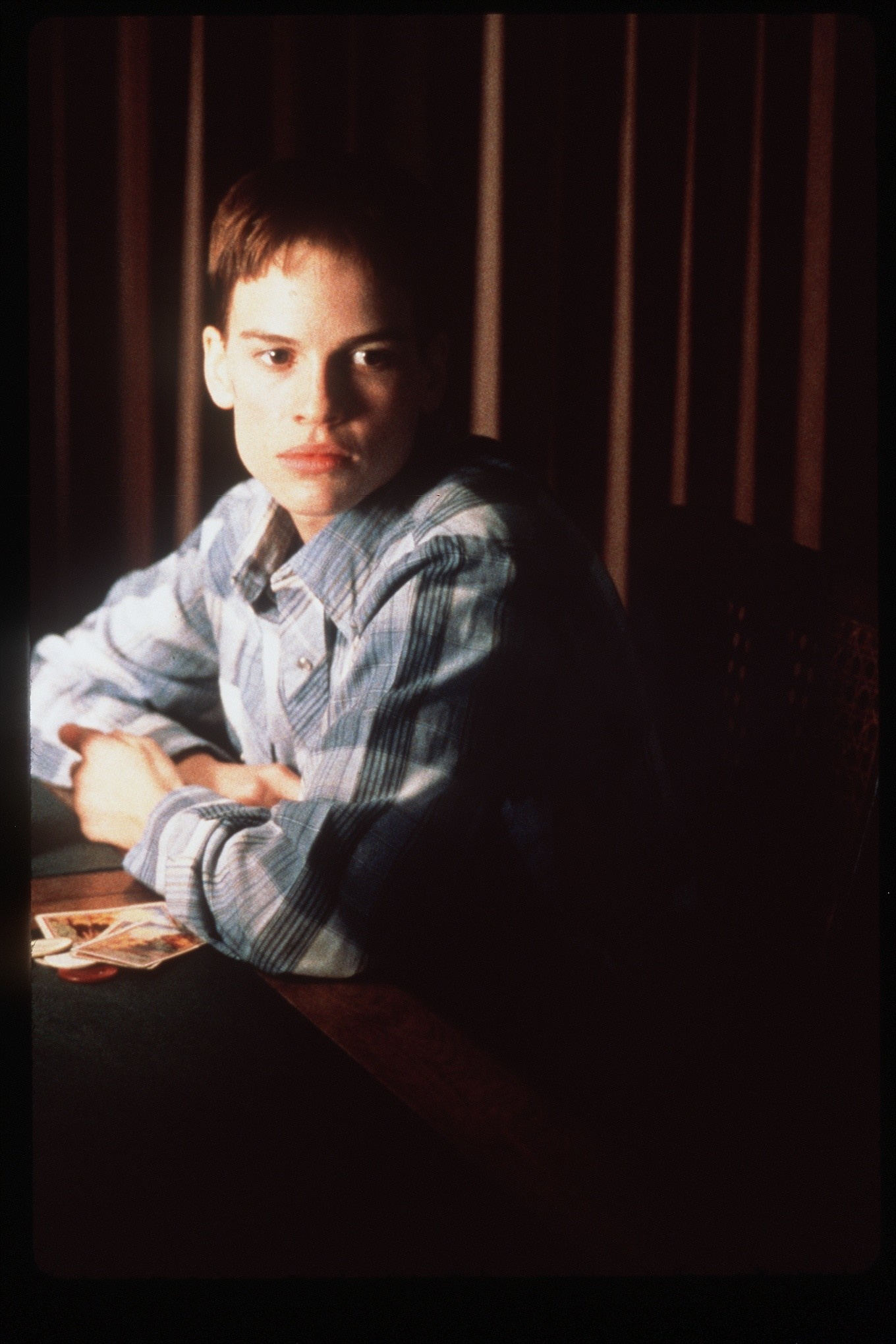 "Hilary Swank played a transgender man in ""Boys Don't Cry,"" directed by Kimberly Peirce."