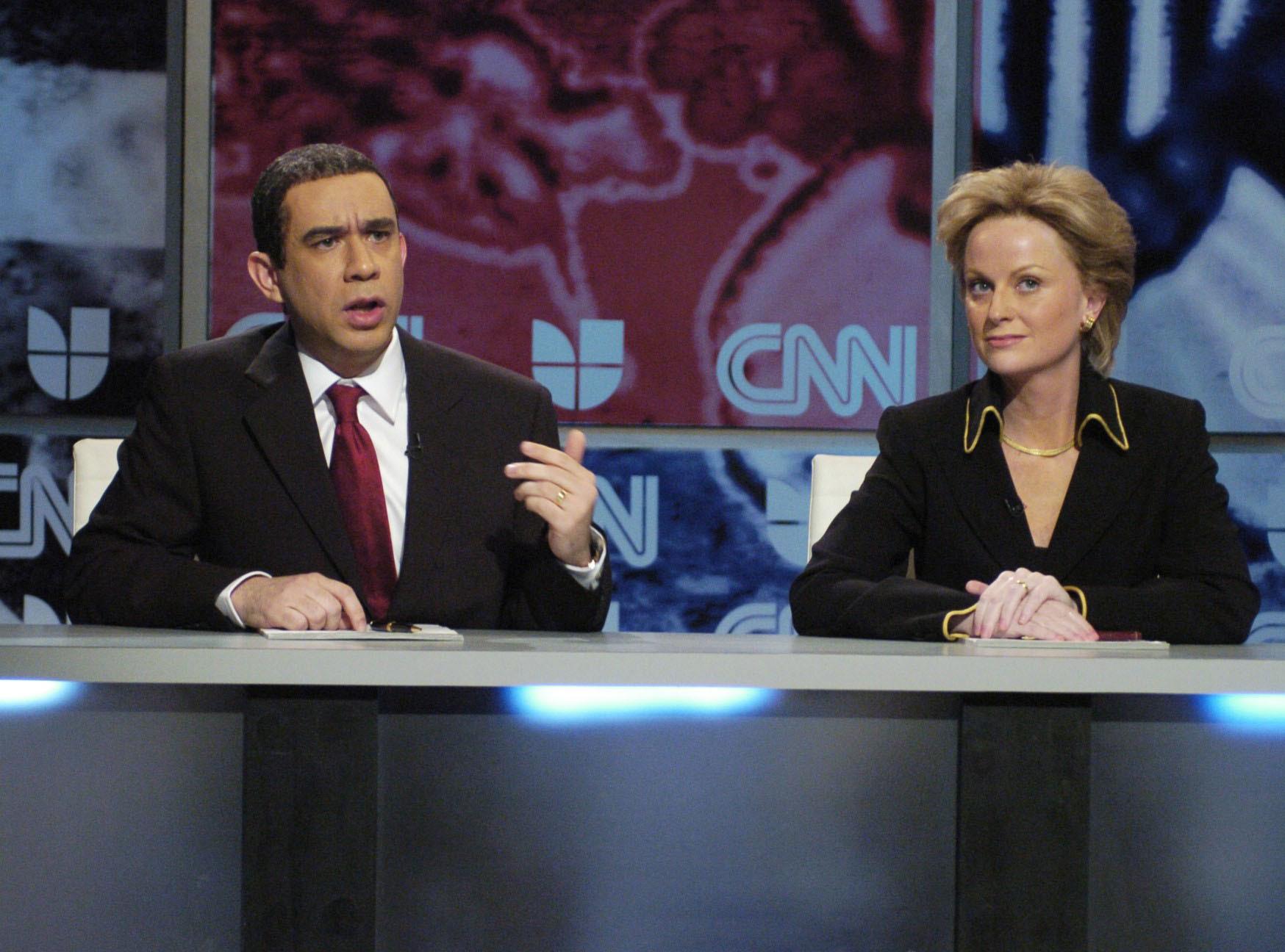 "Fred Armisen played President Barack Obama on ""Saturday Night Live."""
