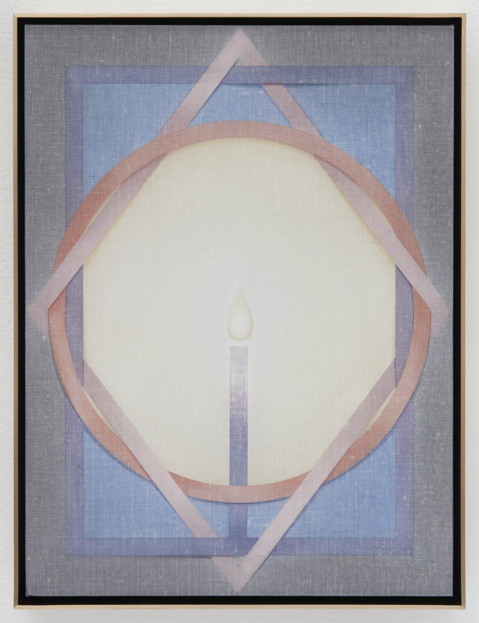 "Theodora Allen's ""The Diamond,"" 2017, oil on linen, 16 inches by 12 inches"