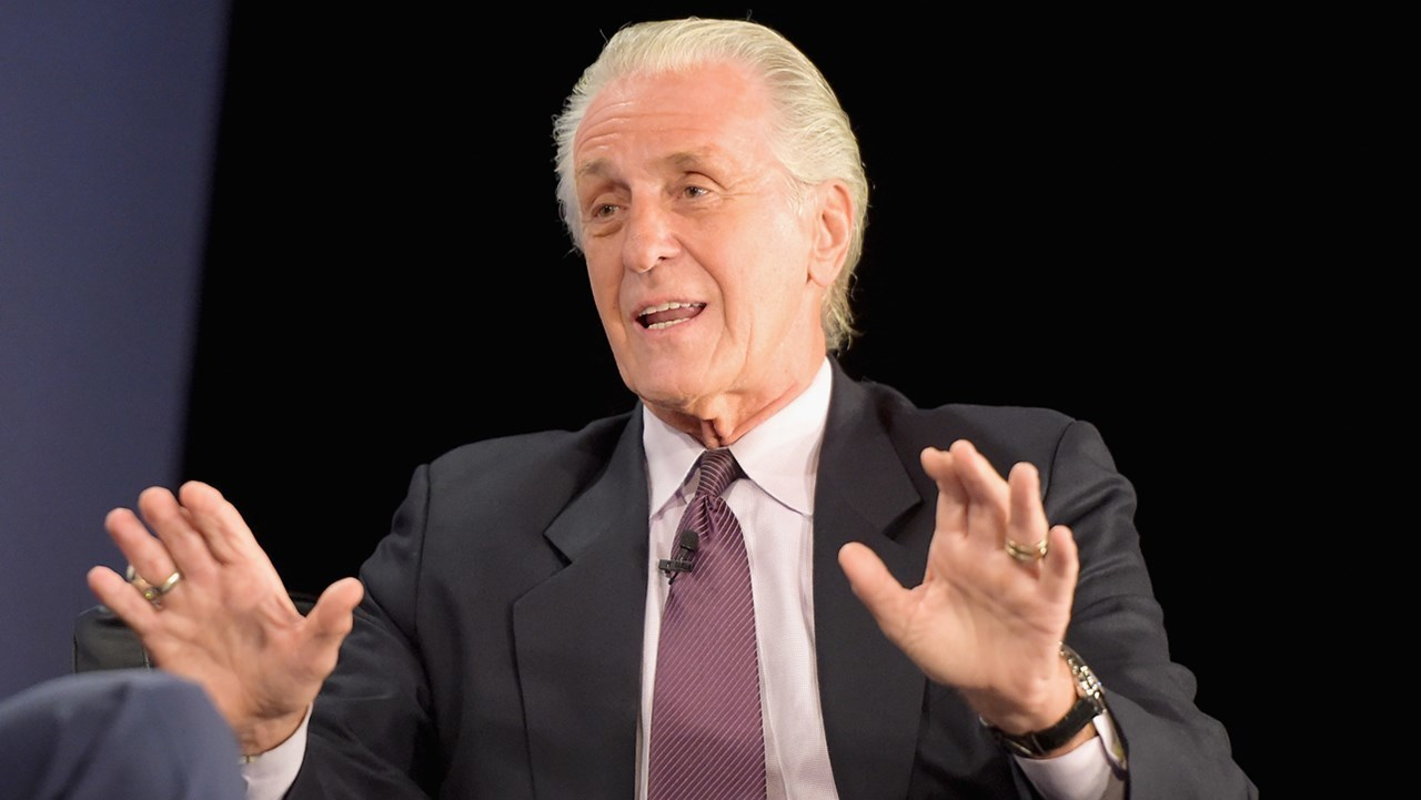 pat riley opens up on olynyk  waiters  mcroberts  heat