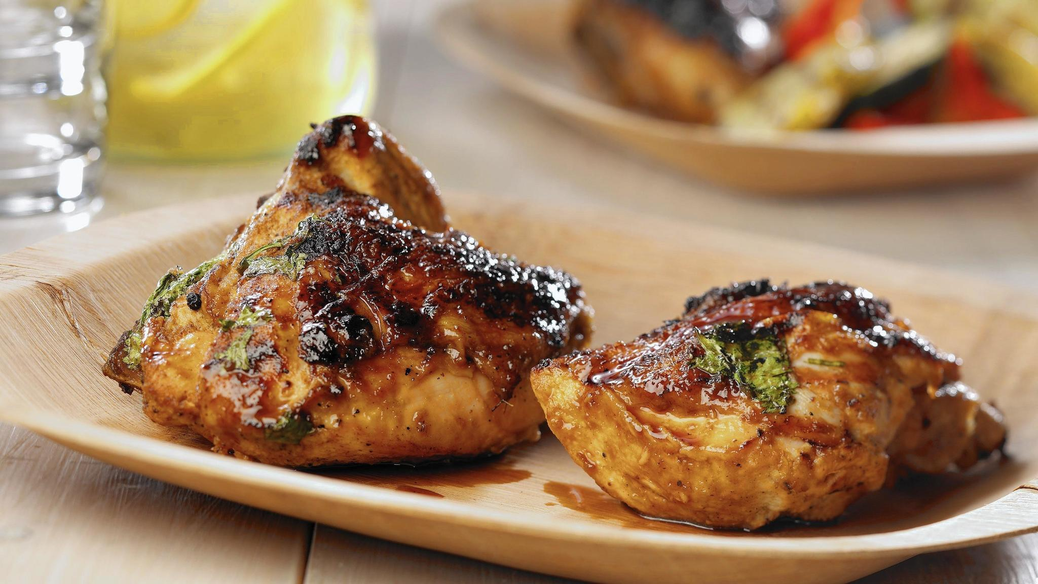 Coconut milk marinade helps grilled chicken rise to occasion