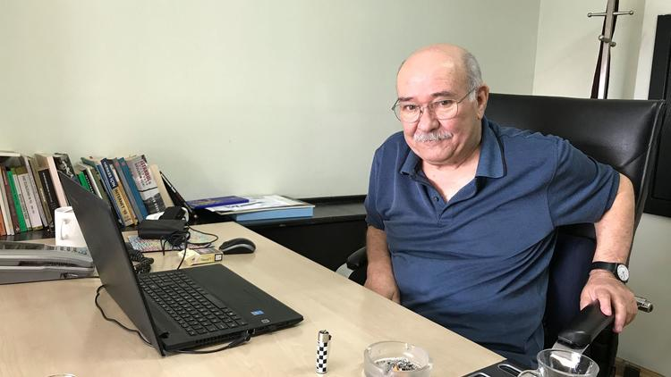 Aydin Engin, a 76-year-old columnist facing trial on terrorism charges, says the Turkish government'