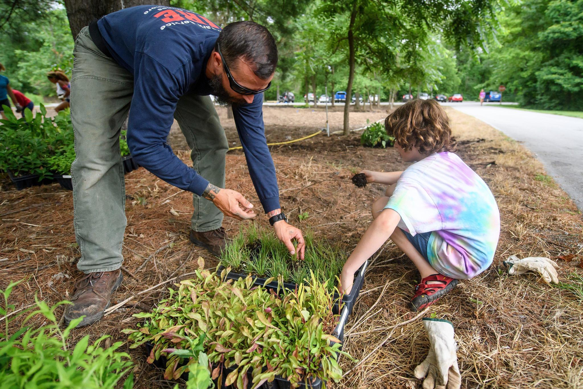 At Dunes summer camp, kids plant to help bees and butterflies - Post ...