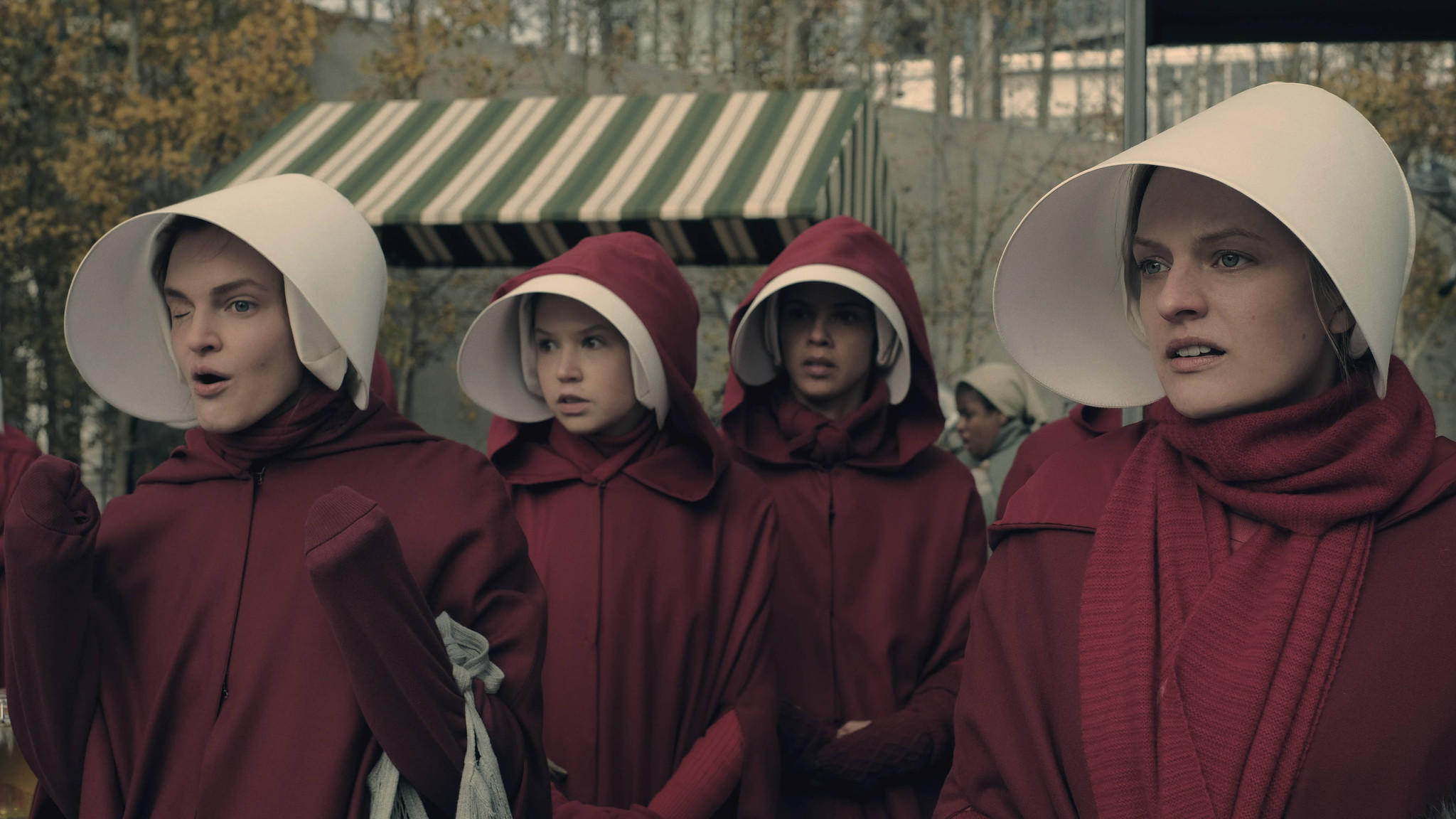 "Hulu's ""The Handmaid's Tale"" earned thirteen nominations. (George Kraychyk / Hulu)"