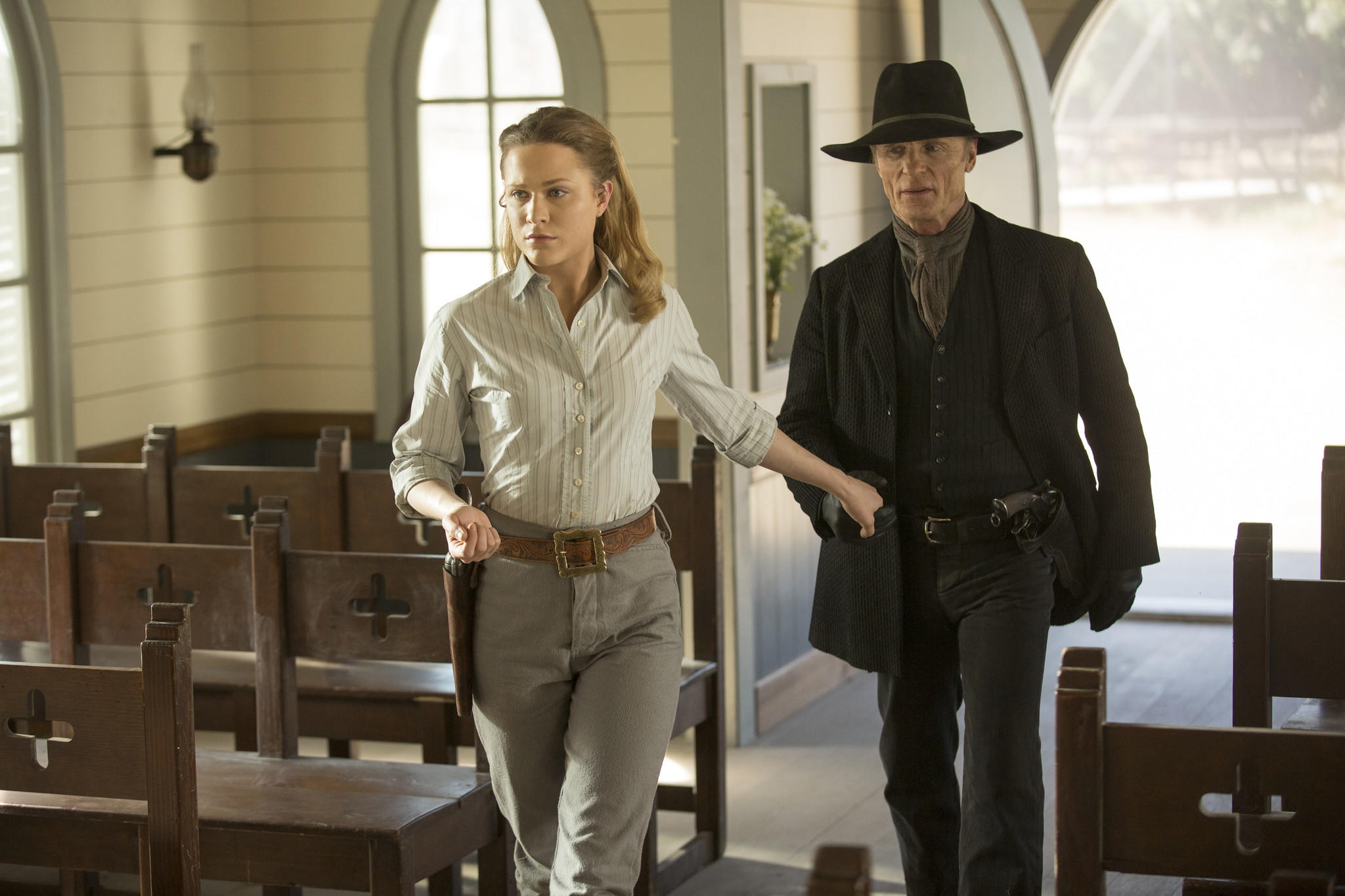 "HBO's ""Westworld"" tallied twenty-two nominations. (John P. Johnson / HBO)"