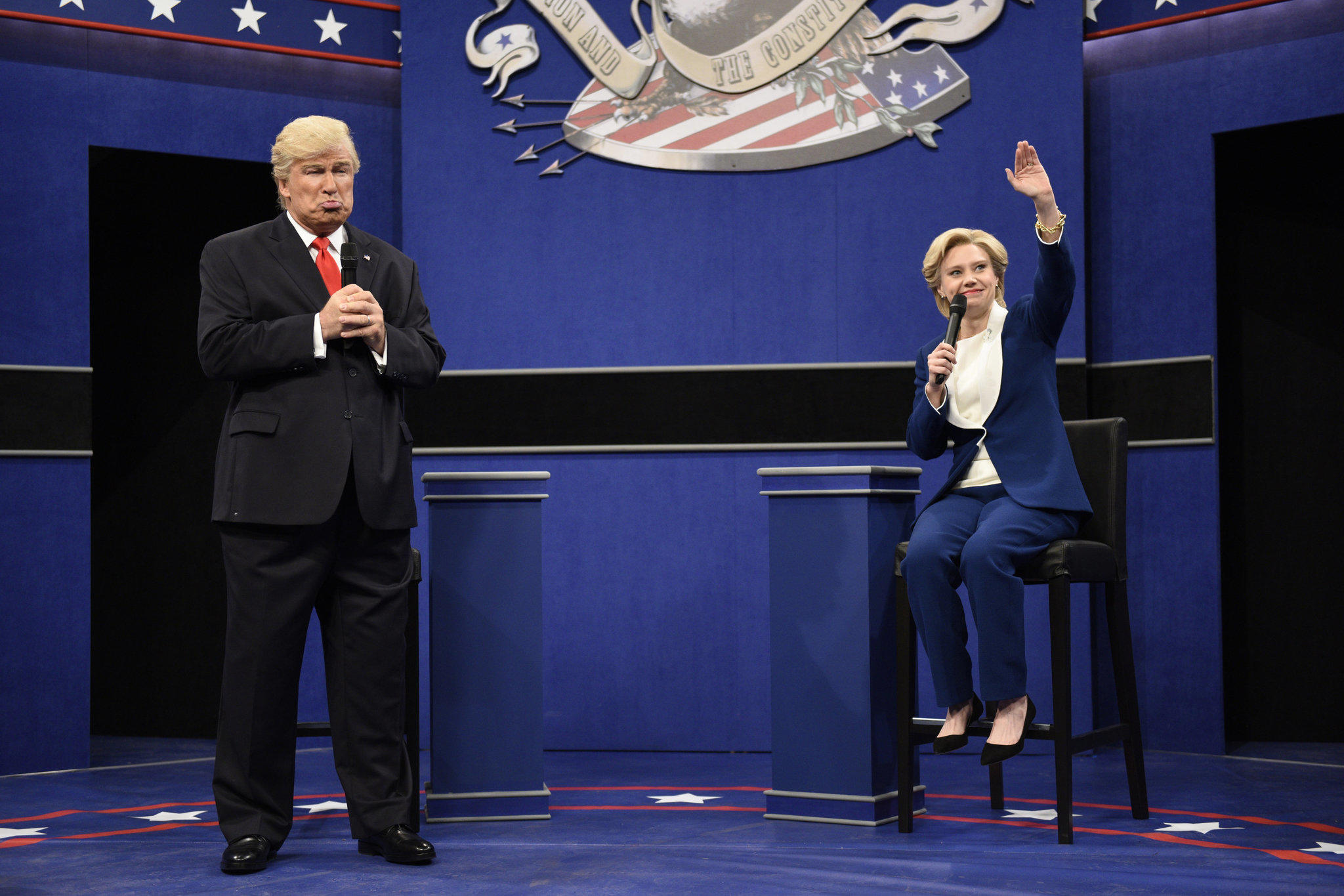 "NBC's ""Saturday Night Live"" earned twenty-two nominations. (Will Heath / NBC)"