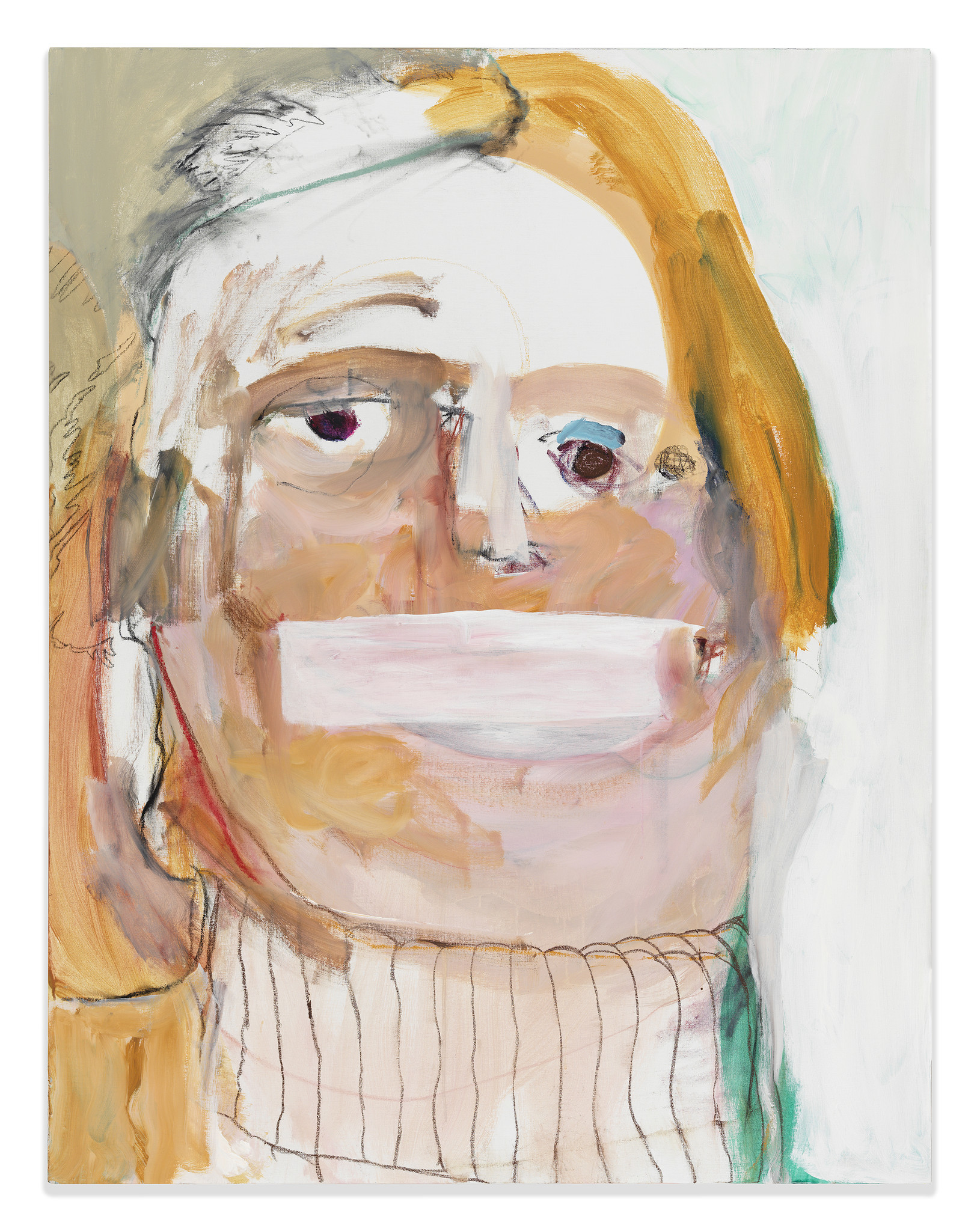 """Hillary,"" by Margot Bergman, at Susanne Vielmetter Los Angeles Projects"