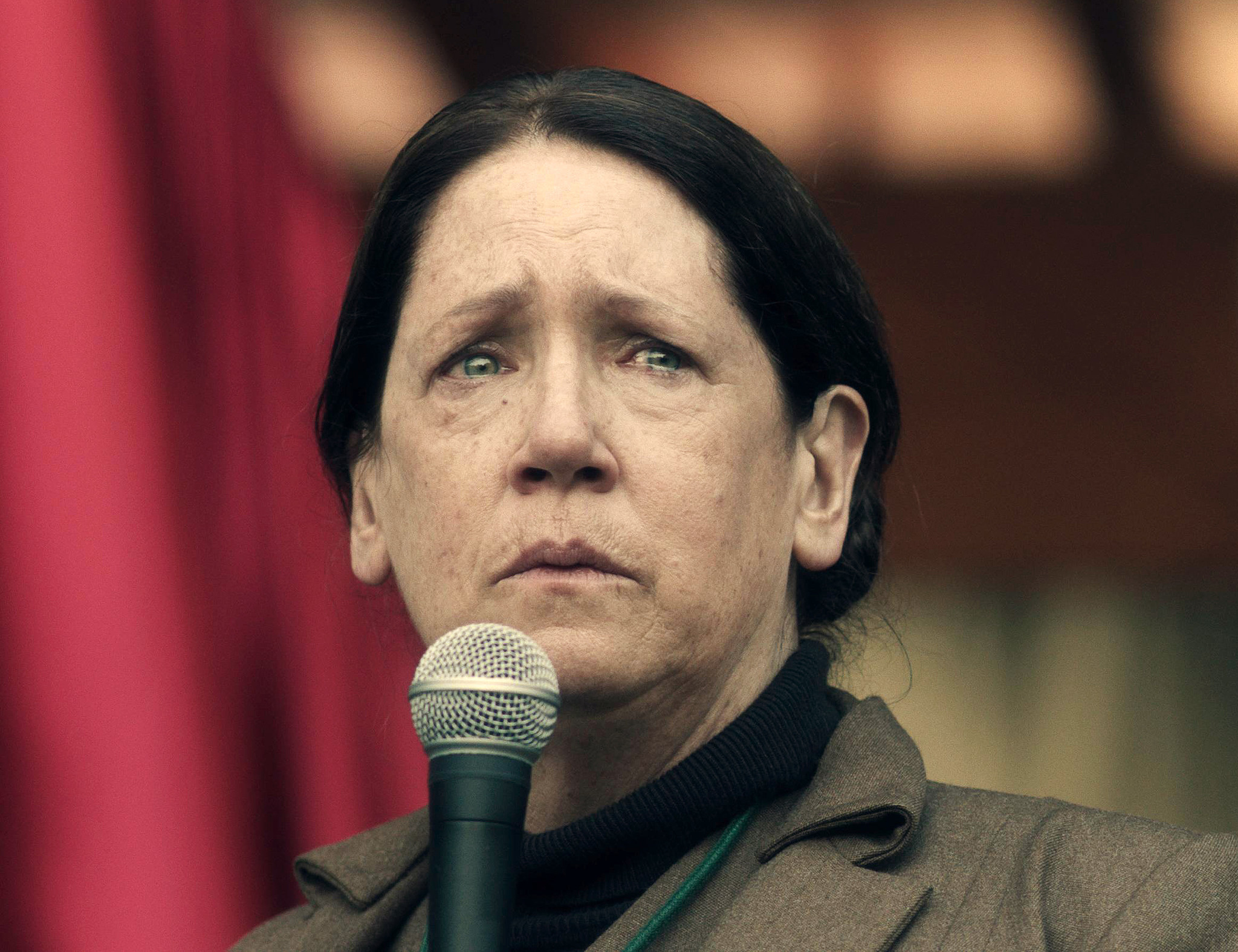 "Ann Dowd in ""The Handmaid's Tale."" (George Kraychyk / Hulu via Associated Press)"