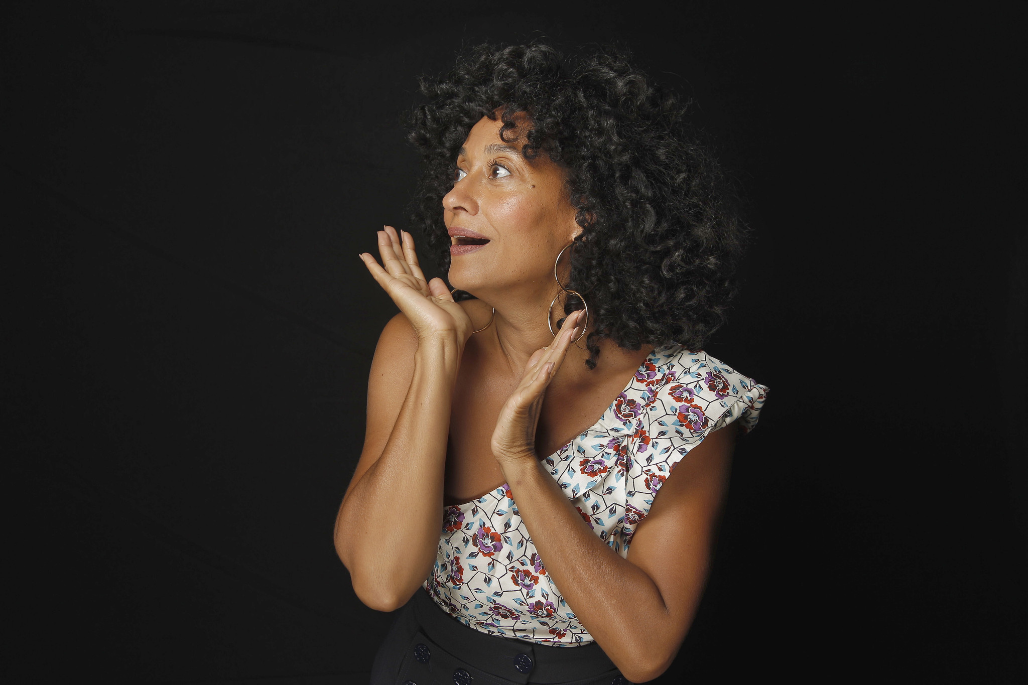 Tracee Ellis Ross is celebrating her second Emmy nomination. (Kirk McKoy / Los Angeles Times)