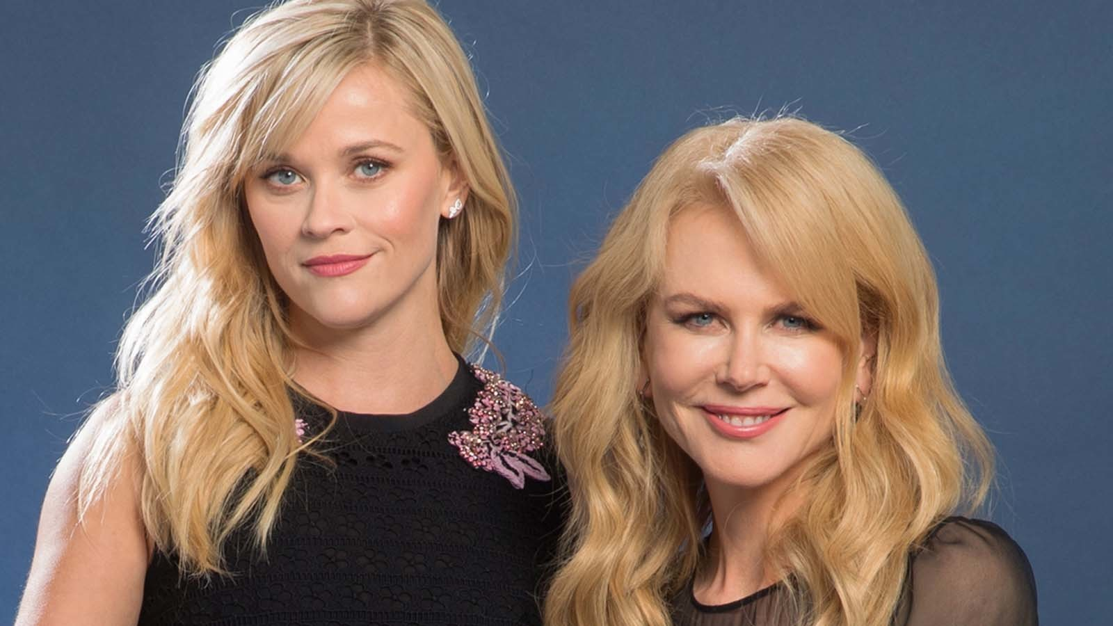 "Reese Witherspoon, left, and Nicole Kidman of ""Big Little Lies."" (Wally Skalij / Los Angeles Times)"