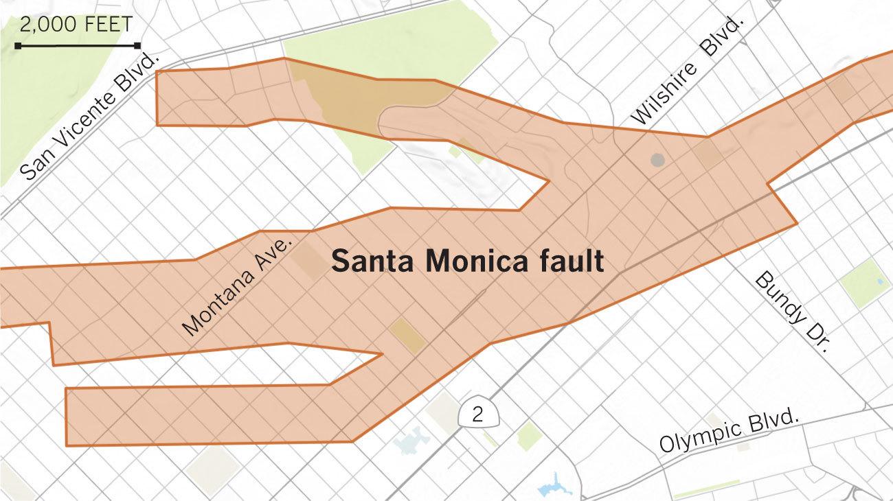 Draft earthquake fault zone.