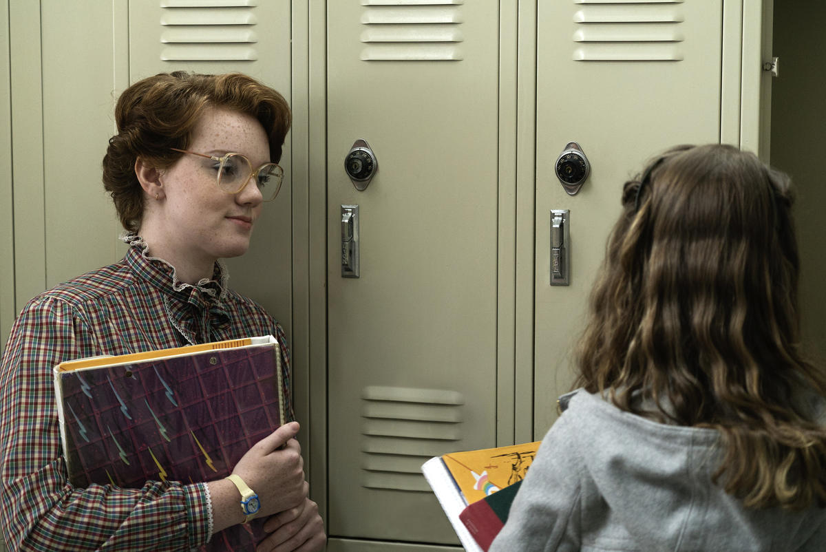 "Shannon Purser in ""Stranger Things."" (Curtis Baker / Netflix)"
