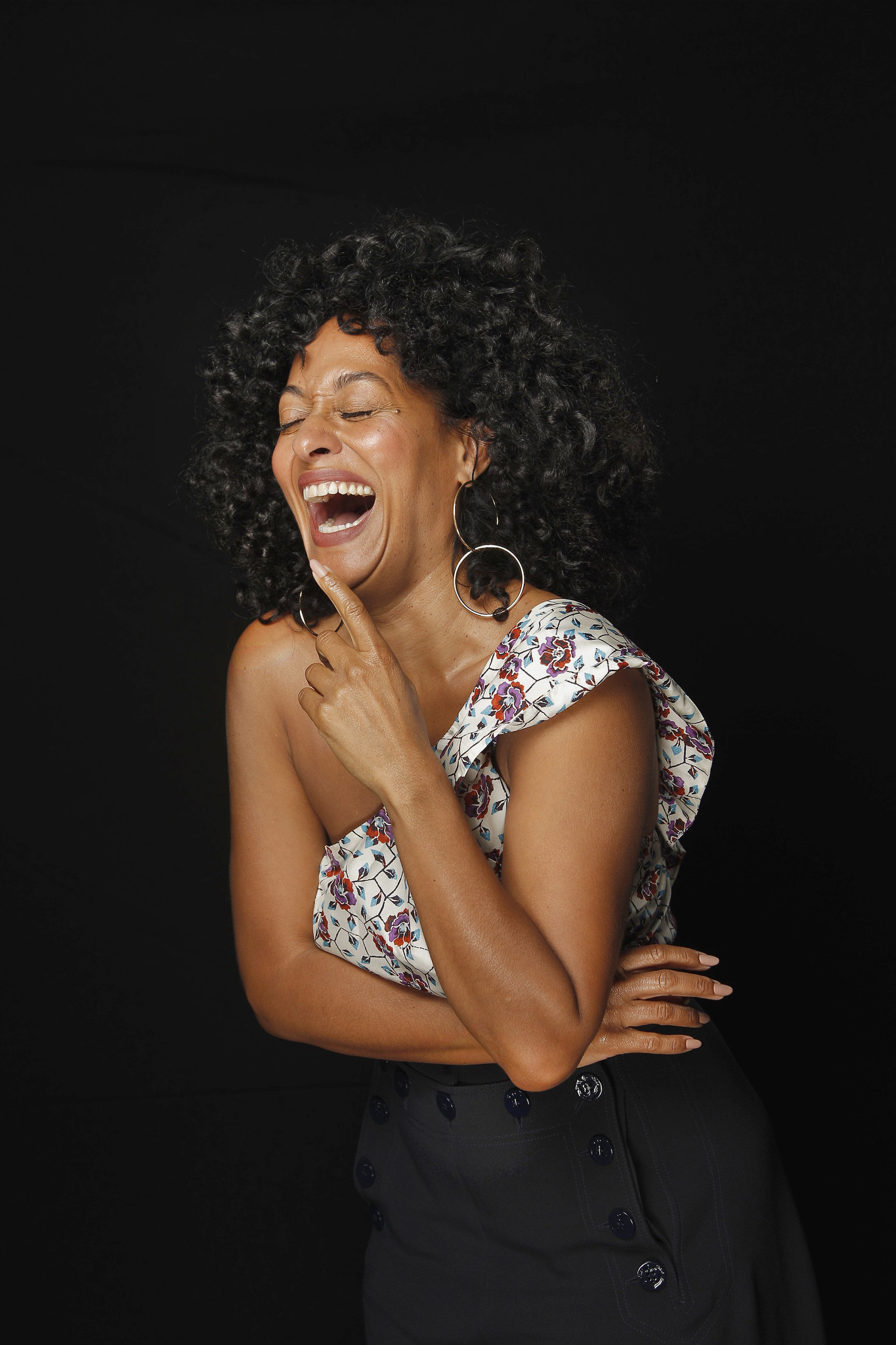 """I'm so excited because these moments are made so much sweeter when you get to share them with your family,"" says Tracee Ellis Ross. (Kirk McKoy / Los Angeles Times)"