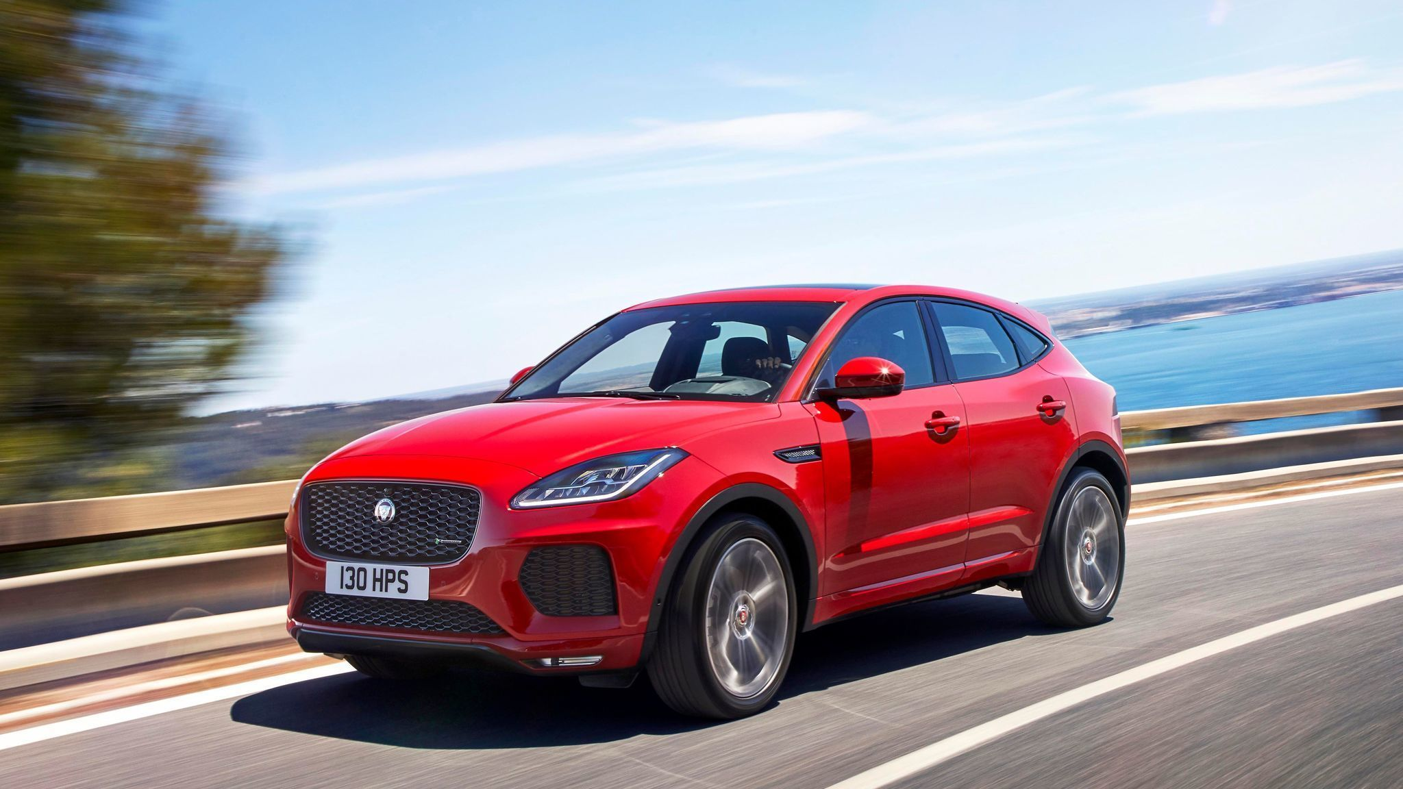 jaguar enters small suv segment with 2018 e pace la times. Black Bedroom Furniture Sets. Home Design Ideas