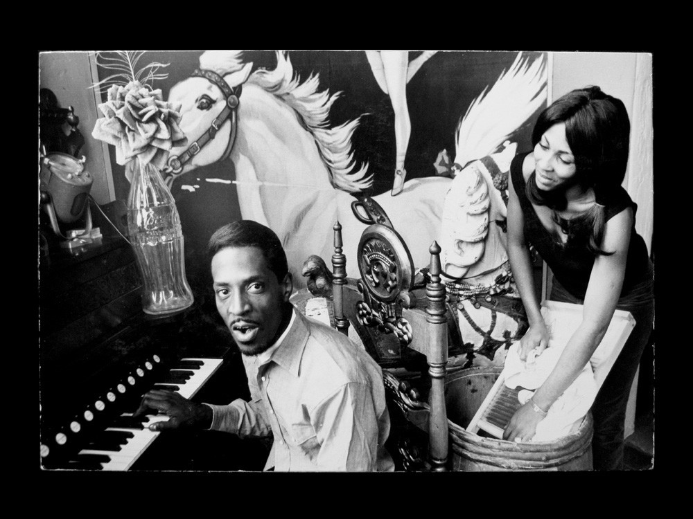 """Hopper captured Ike and Tina Turner in 1965. The actor did the cover art for their album """"River Deep — Mountain High"""" the following year."""