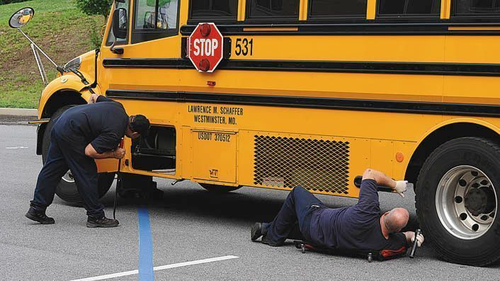 Mva debuts electronic school bus inspection system for Maryland motor vehicle administration