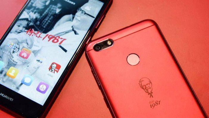 The KFC Huawei phone.