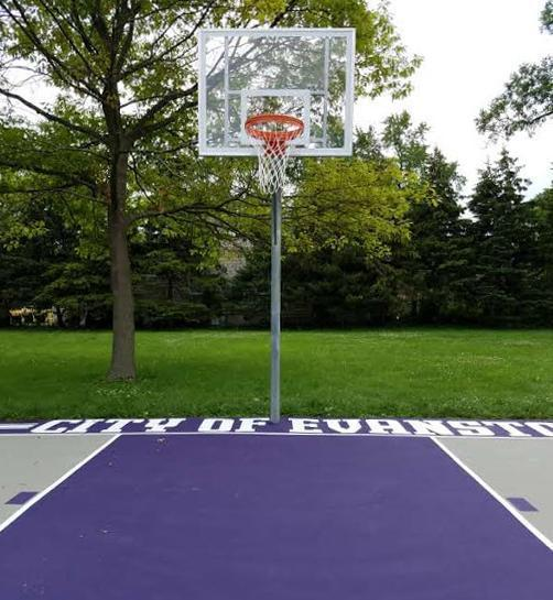 Private dollars help pay for public basketball court for Personal basketball court