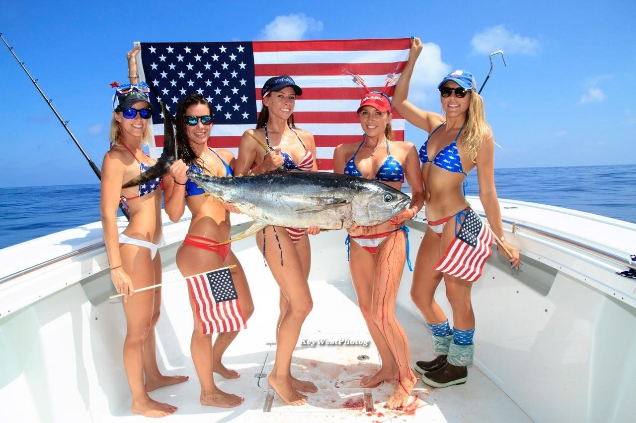 Florida fishing girls for Florida free fishing days