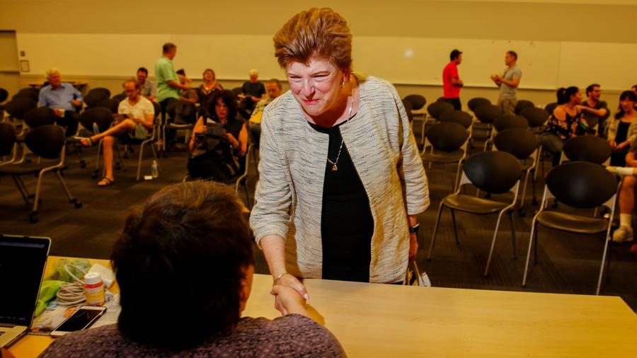 LOS ANGELES,CA --TUESDAY, JUNE 27, 2017-- Delaine Eastin, a Democratic candidate for California gove