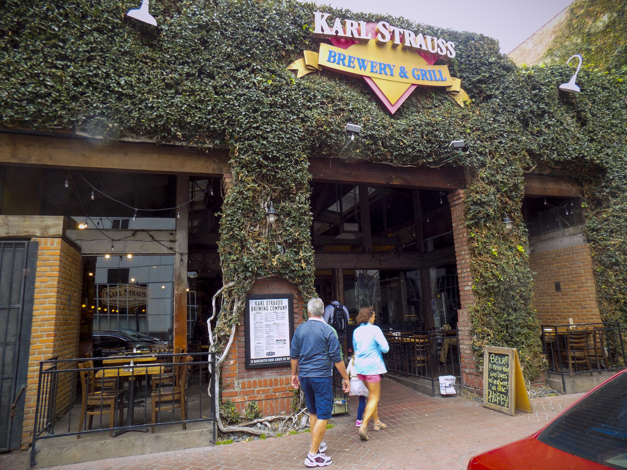 Karl Strauss Brewing Co. in downtown San Diego.