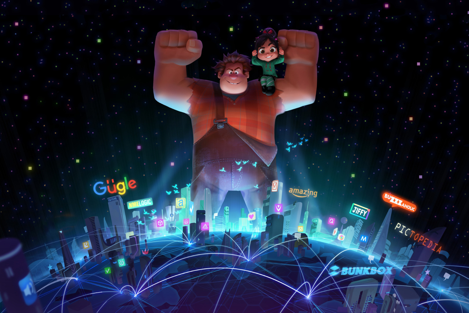 """Ralph Breaks the Internet: Wreck-It Ralph 2"" leaves the arcade and heads into the Internet."